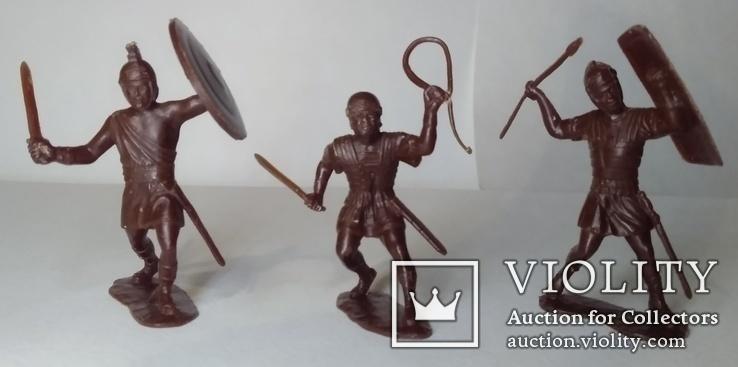 Три римских легионера ДЗИ ( коричневого цвета ), фото №2