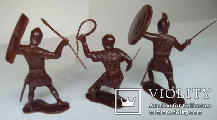 Три римских легионера ДЗИ ( коричневого цвета ), фото №3