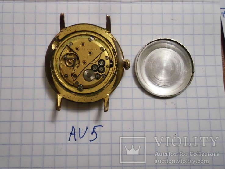 """Часы мужские"""" Luch """"2209, корпус  AU 5 , кольцо, рабочие, фото №5"""