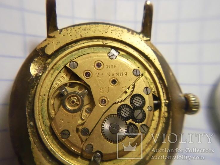 """Часы мужские"""" Luch """"2209, корпус  AU 5 , кольцо, рабочие, фото №6"""