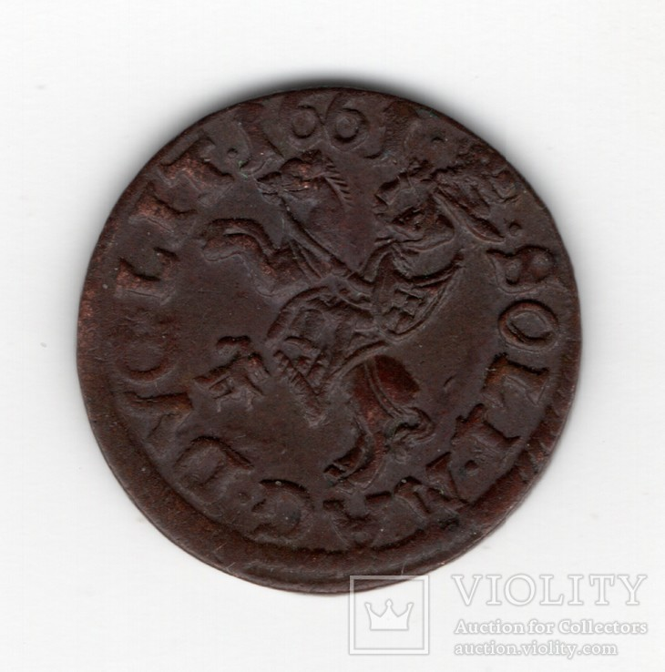 Боратинка. 1661. aUNC?