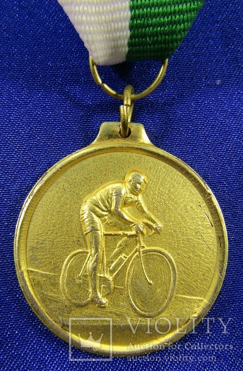 Cпорт. Велотуризм.1974р Альбидзате. Італія (16м), фото №2