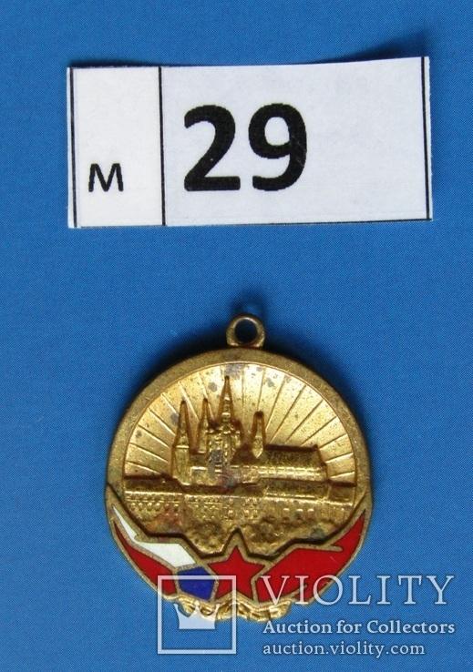 Нагрудный знак ЧССР (29м), фото №3