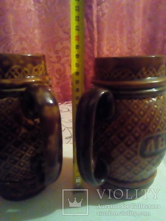 Пивные кружки керамика., фото №8