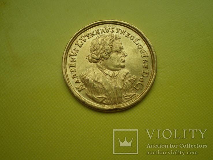 Дукат-медаль Нюрнберг 1717 г.