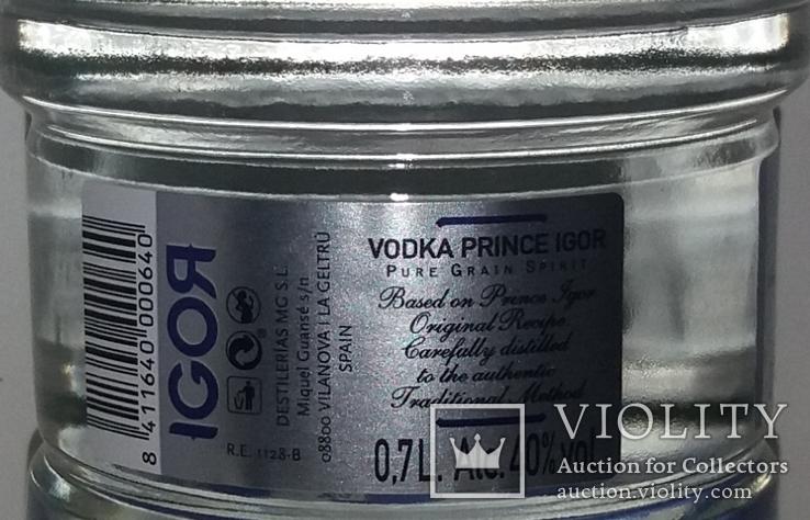 Водка Prince Igor Vodka, 0,7л, Испания, фото №5