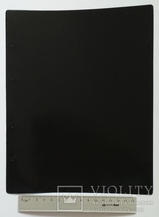 Лист разделительный формат Optima черный