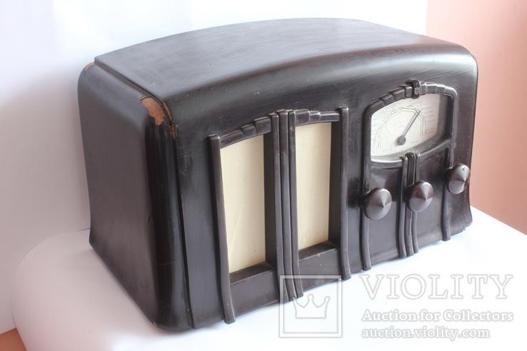 Ламповий радіоприймач VEFAR 2BD/39 (радиоприемник)