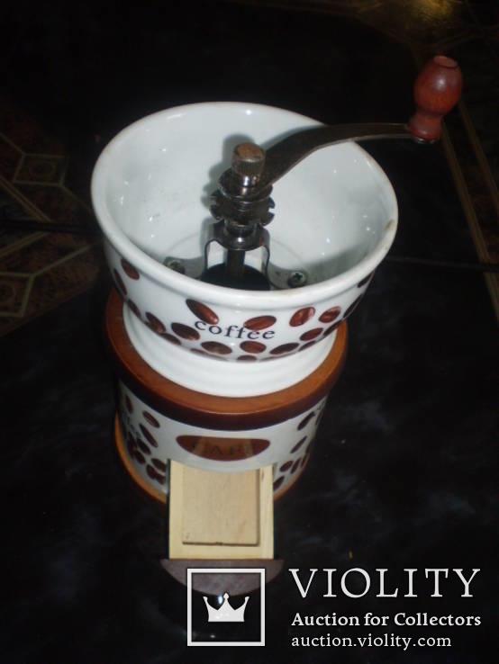Кофемолка фарфор, фото №3