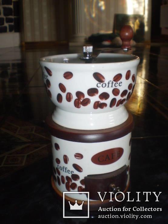 Кофемолка фарфор, фото №5