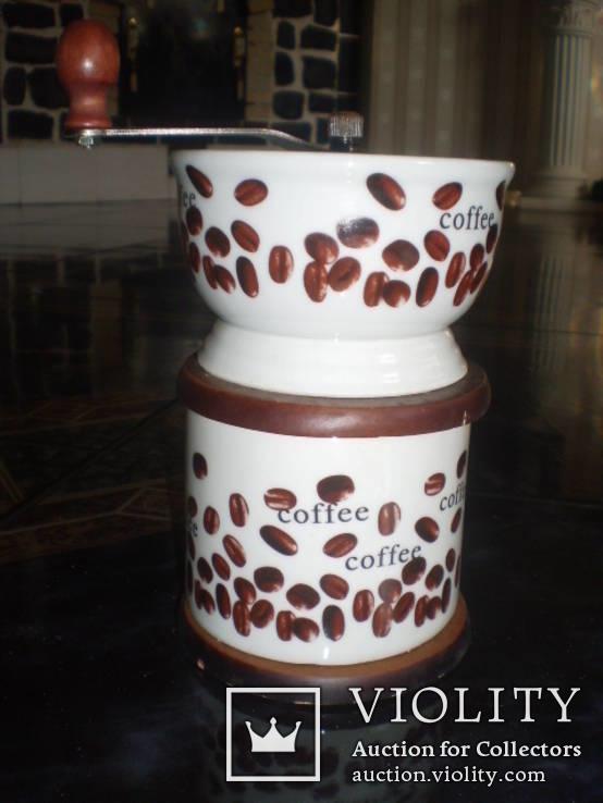 Кофемолка фарфор, фото №6