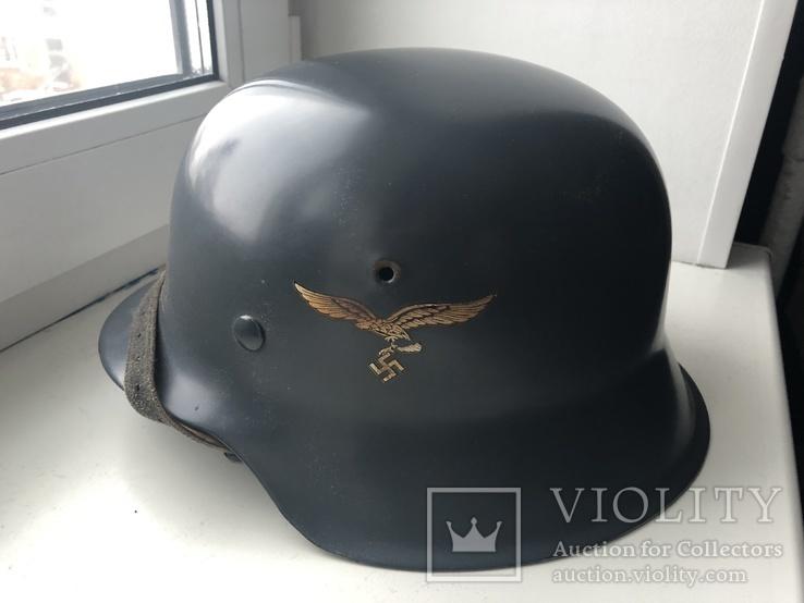 Немецкий стальной шлем М42