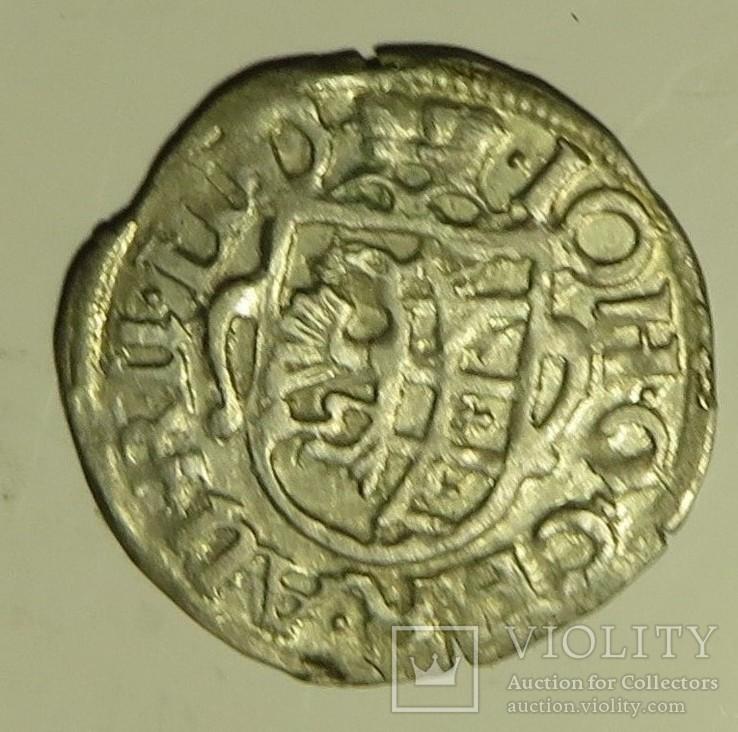 1/24 талера 1617 года  Иоанна Георга, курфюрста Саксонии талера 1617 года