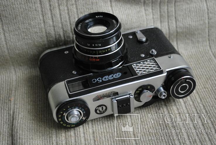 Фотоаппарат ФЭД-5 С, Юбилейный выпуск 70лет ФЭД упаковка, инструкция., фото №5
