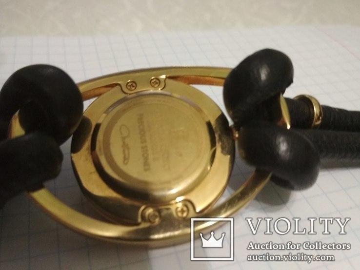 Часы Cristina , брилиант 12 сапфиров, фото №11
