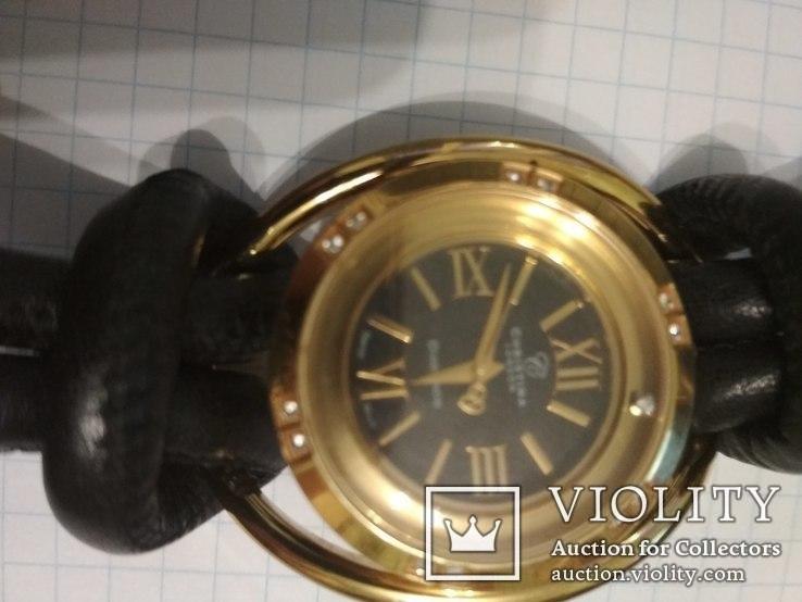 Часы Cristina , брилиант 12 сапфиров, фото №12