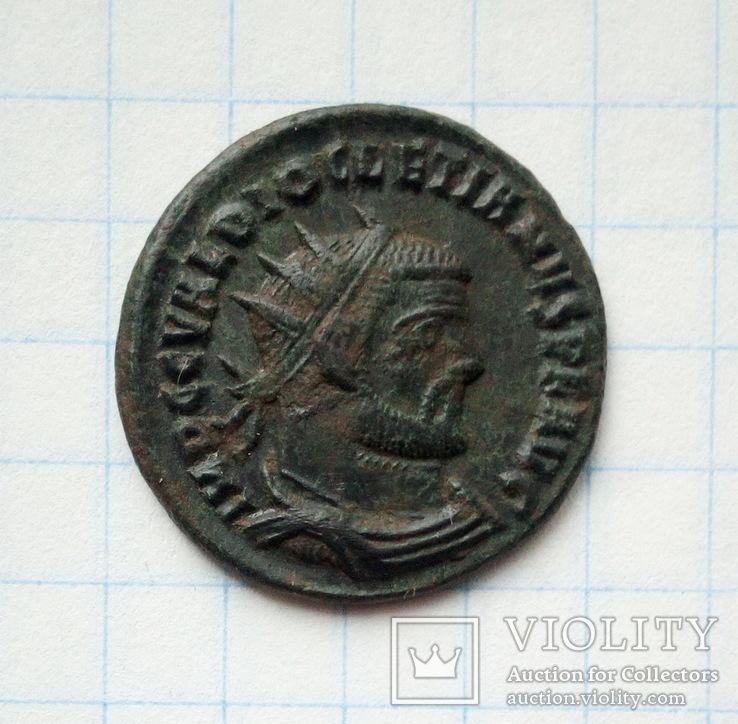 Диоклетиан,постреформенный радиат,Heraclea,284 - 305 гг.н.є.