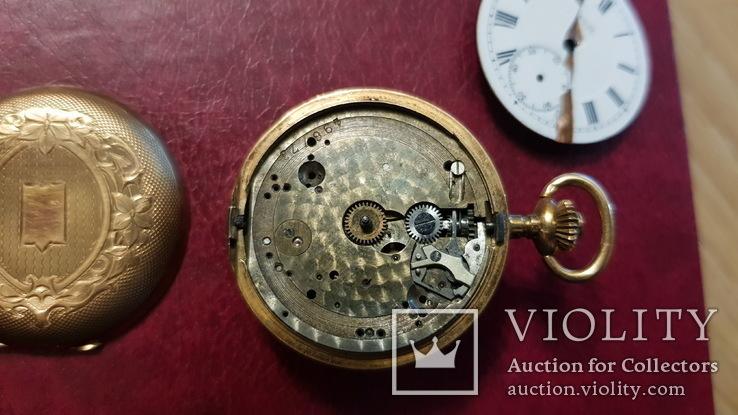 Золотые карманные часы ANCRE LE PARC 1910, фото №3