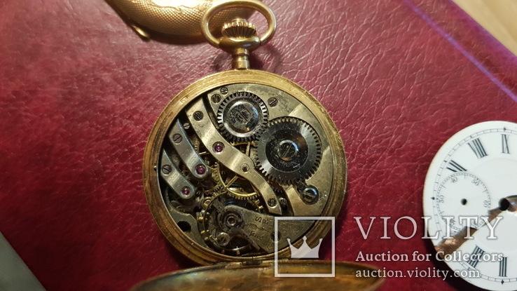 Золотые карманные часы ANCRE LE PARC 1910, фото №5