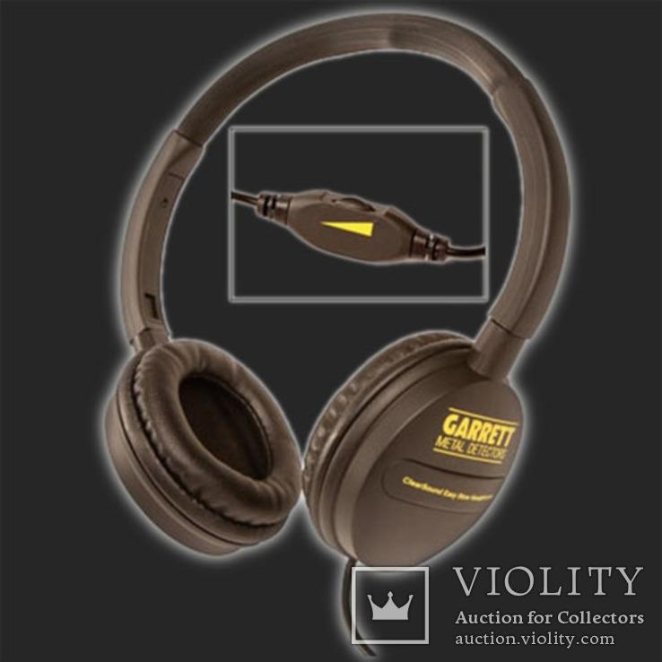 Оригинальные наушники Garrett ClearSound Easy Stow Headphones с регулятором громкости, фото №4