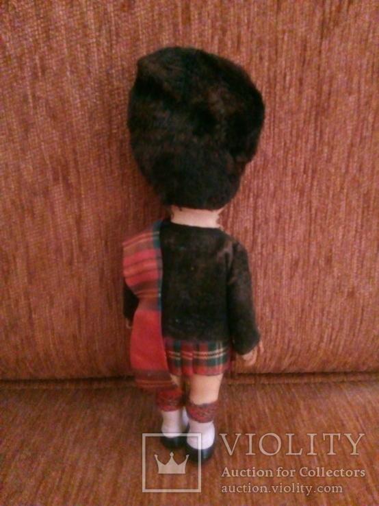 Винтажная кукла Шотландский солдат, фото №3