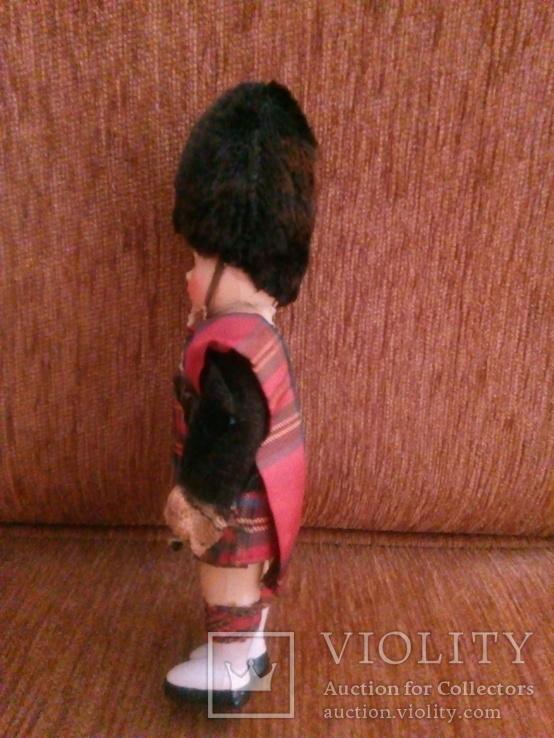 Винтажная кукла Шотландский солдат, фото №5