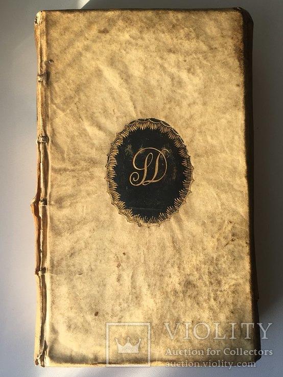 Книга на латыни 1669г.