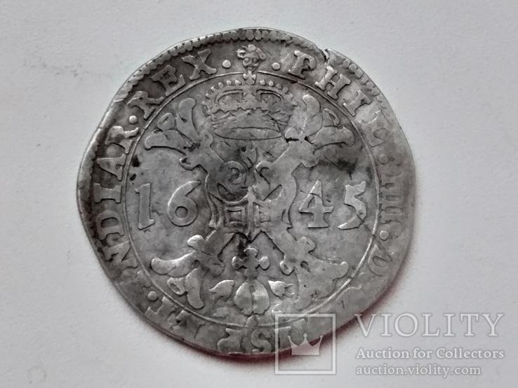Іспанські Нідерланди.Брабант.Патагон. 1645 р.Філіпп IIII.