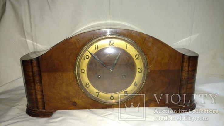 Старые каминные часы Junghans Германия