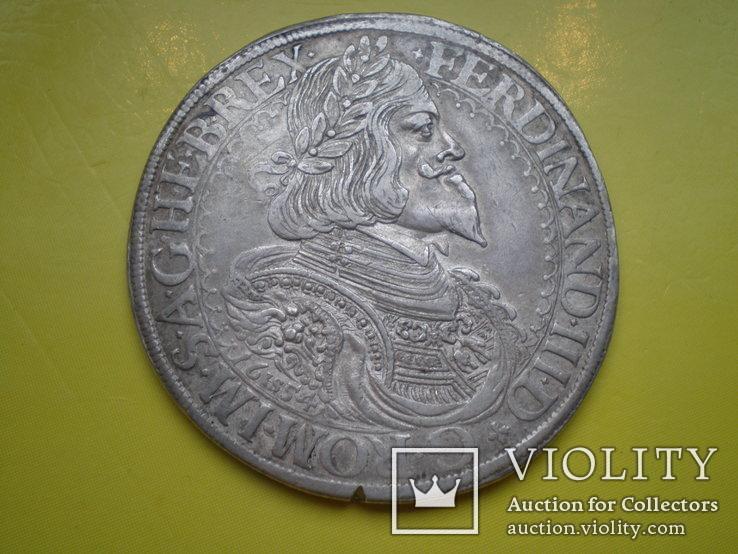 Талер Фердинанда III 1654 г.
