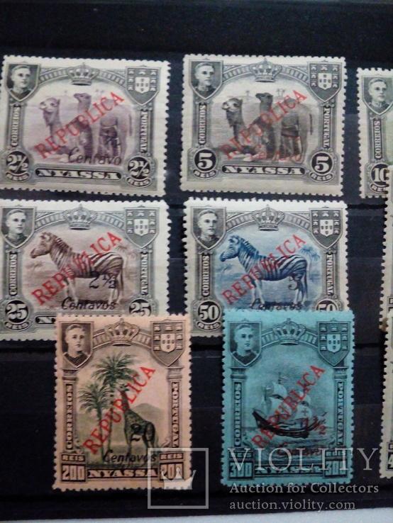 Португальская колония Ньясса полная серия МН, фото №3