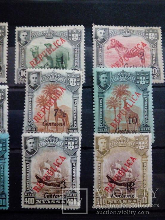 Португальская колония Ньясса полная серия МН, фото №4