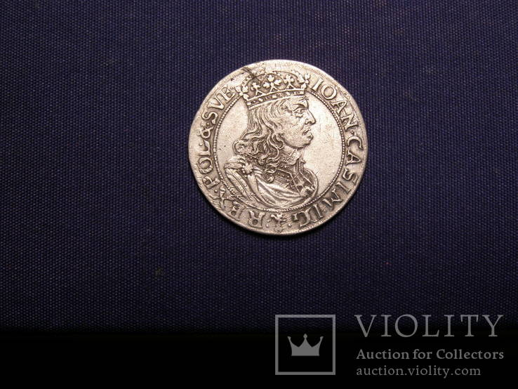 6 Грошів 1660 р ТLB
