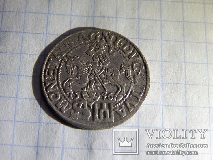 Грош литовский 1546г