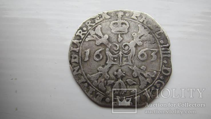 1/4 патагона 1663
