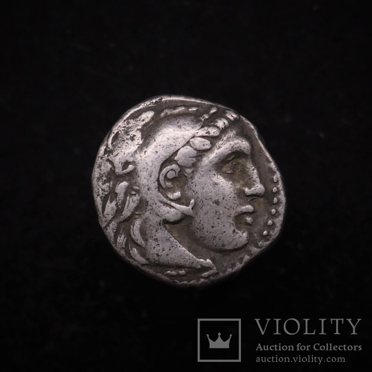 Драхма Александра Македонского 323-319гг, Теос