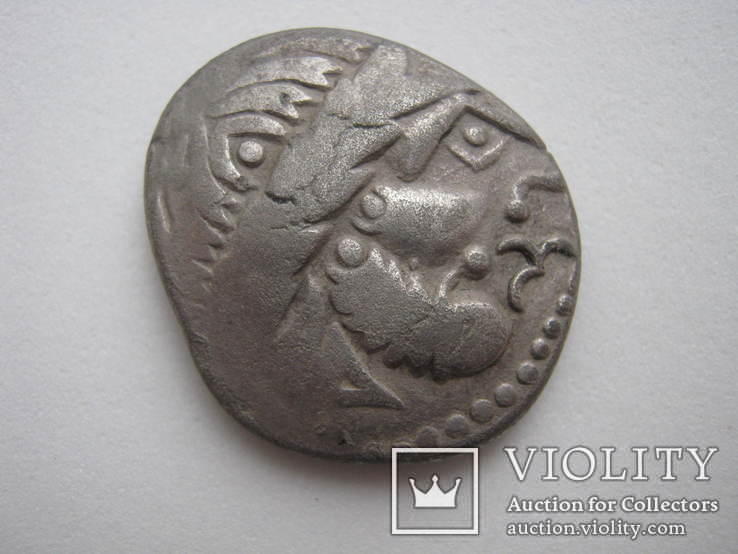 Кельское подражание Филиппу II Македонскому. Тетрадрахма