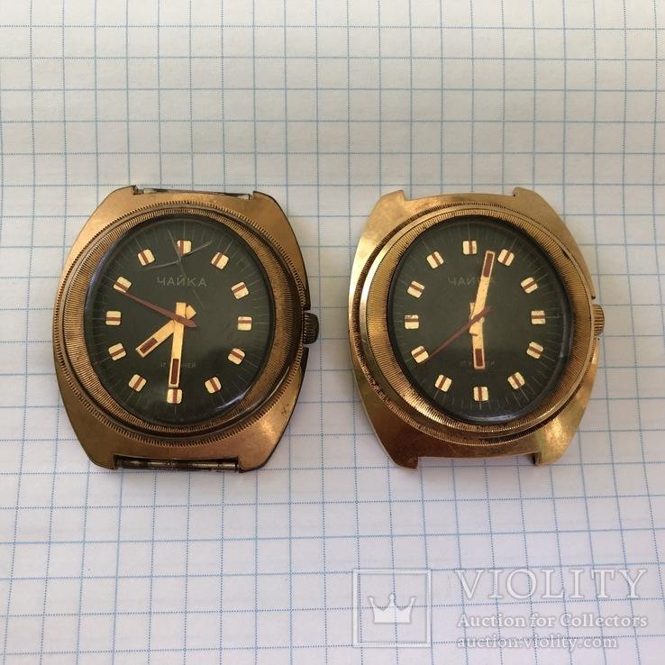 Часы Чайка (2 штуки в лоте)