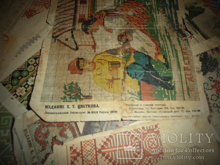 Рисунки вышивок, фото №5