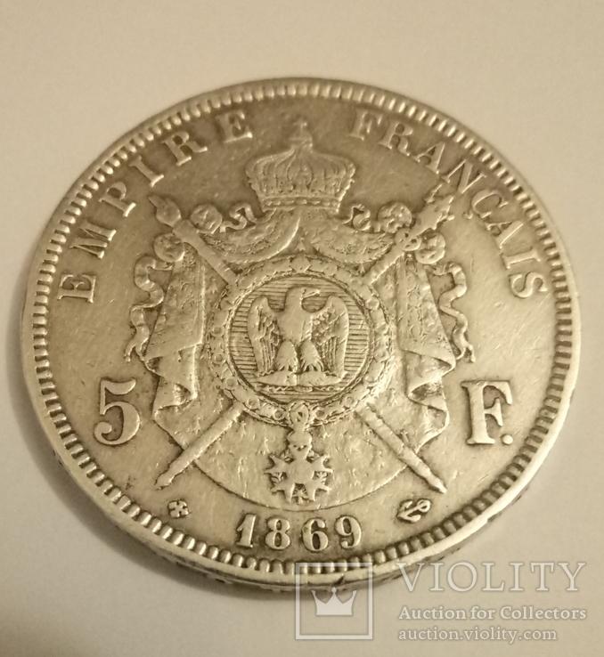 5 франков 1869