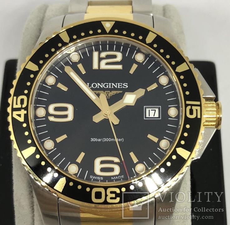 Часы Longines-Hydroconquest L.3.640.3