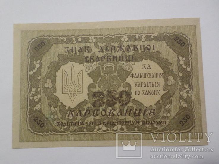 250 карбованцив 1918 г. UNC