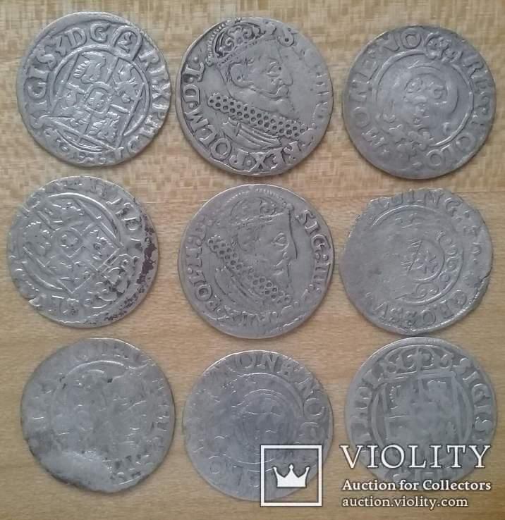 Срібні Монети 72 шт.