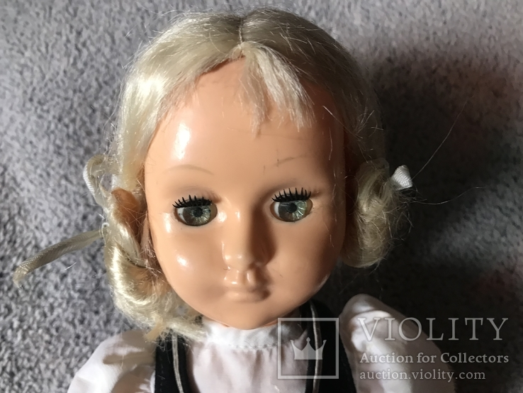 Редкая паричковая кукла СССР