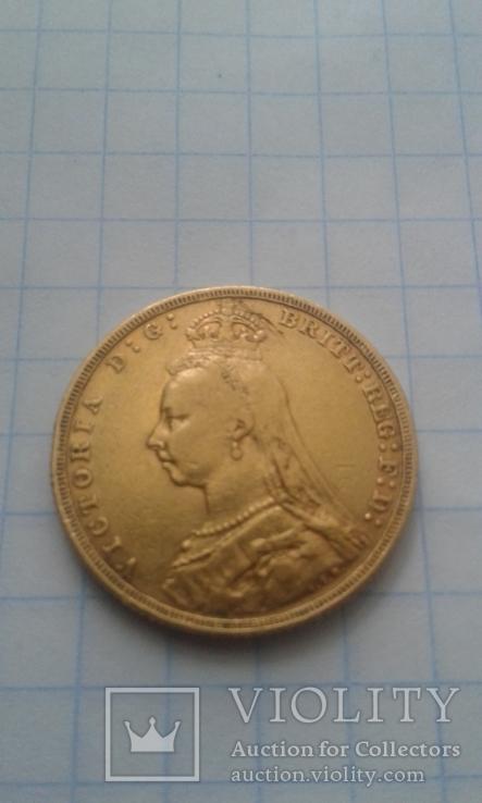 Соверен (фунт) 1892р. Великобританія