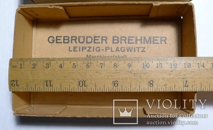 Немецкая старая коробка Gebruder Brehmer Leipzig, фото №4
