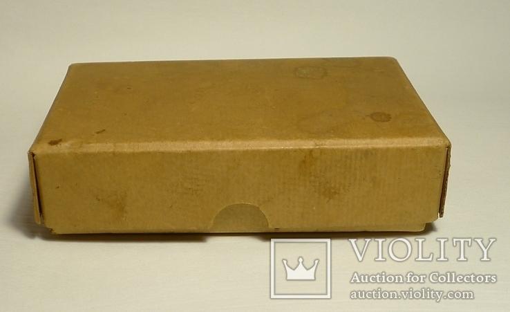 Немецкая старая коробка Gebruder Brehmer Leipzig, фото №5