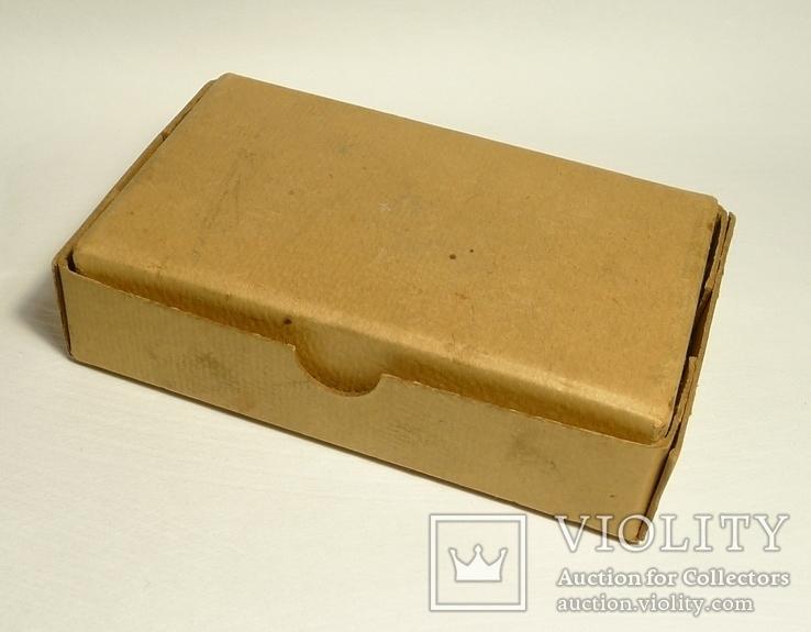 Немецкая старая коробка Gebruder Brehmer Leipzig, фото №8