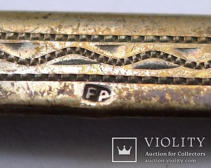Австро - Венгерская серебряная накладка., фото №6