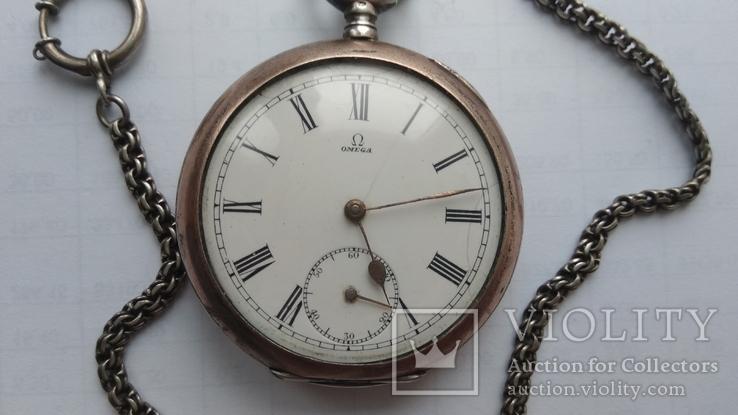 Карманные часы Omega, на ходу